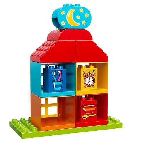 LEGO Duplo: Мой первый игровой домик 10616 — My First Playhouse — Лего Дупло