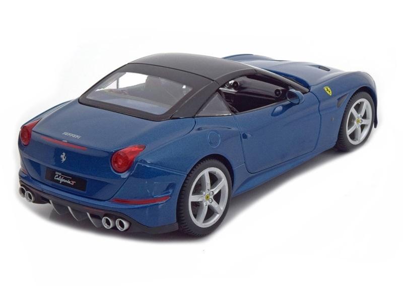 Коллекционная модель Ferrari New California T Hardtop 2014 Blue Metallic/Black