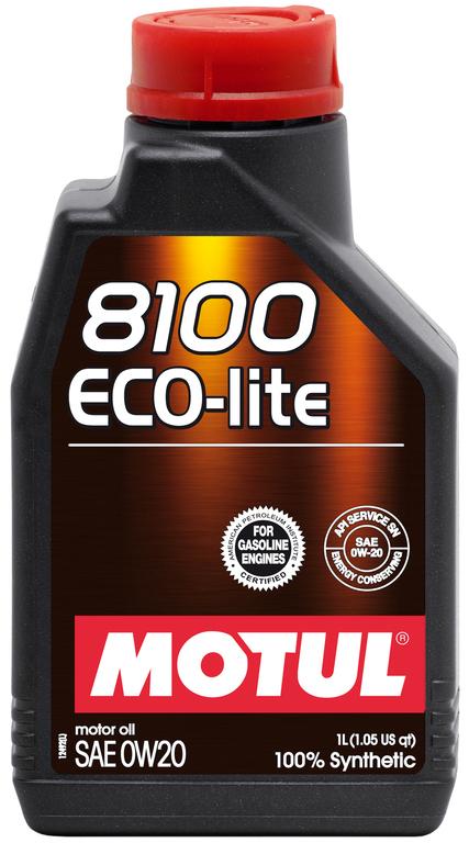 Motul 8100 Eco Lite 0W20 SM/CF Синтетическое моторное масло
