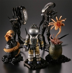 Фигурки из фильма Чужой - Alien Capsule Q Characters