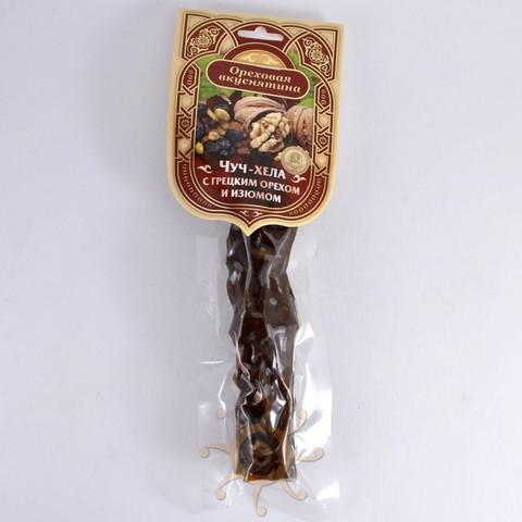 Чуч-хела с грецким орехом и изюмом Ореховая вкуснятина, 100г