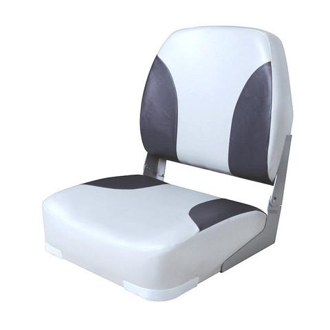 Сиденье мягкое складное Classic Low Back Seat, серо-черное