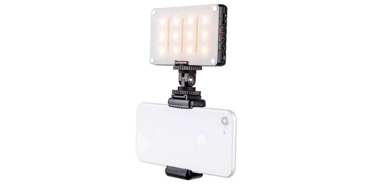 Осветитель светодиодный Pictar Smart Light с держателем для смартфона
