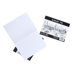 Скетчбук Marker Pad, склейка, 20 л., B5