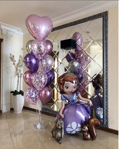 Сет воздушных шаров София прекрасная