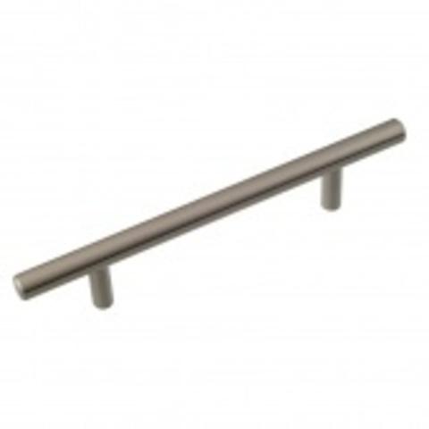 Ручка мебельная (рейлинг) 8925 диам 10мм 128мм (14.209.02) хром