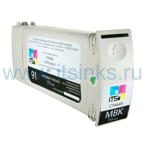 Картридж для HP 761 (CM997A) Matte black 775 мл