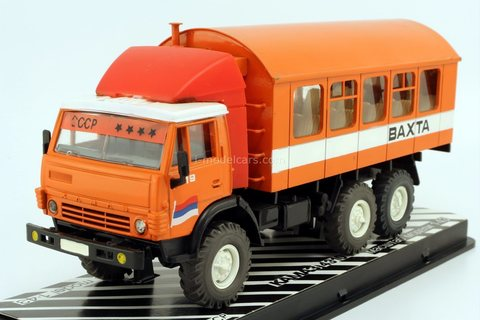 KAMAZ-4310 Toros Shift work bus 1985 Workshop EKAM (Yekaterinburg) Elecon Arek 1:43