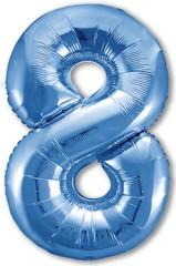 Р Цифра, 8 Slim, Синий,40''/102 см, 1 шт. в упак.