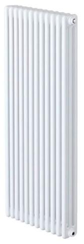 Zehnder Charleston 3180 - 10 секций радиатор с боковым подключением №1270, 3/4