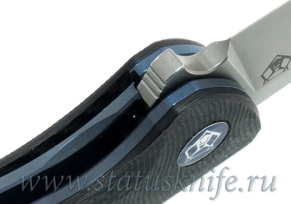 Нож Широгоров Ф3 vanadis10 Карбон 3D подшипники - фотография