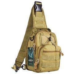 Тактический однолямочный рюкзак G4Free D04V Койот/хаки