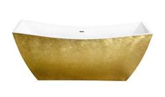 Акриловая ванна Lagard ISSA Treasure Gold 178х75 см