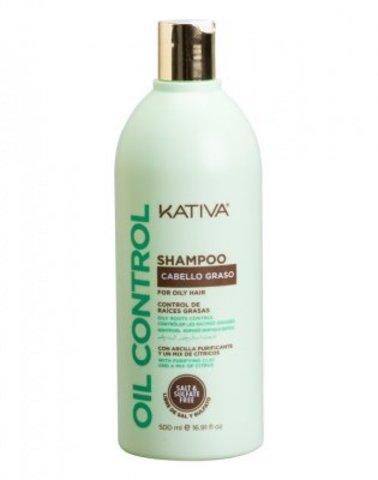 Шампунь «Контроль» для жирных волос OIL CONTROL Kativa, 500 мл