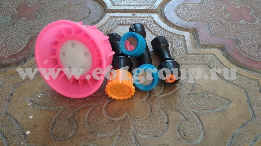 1 Комплект пластиковых насадок модель КРН-1012,5