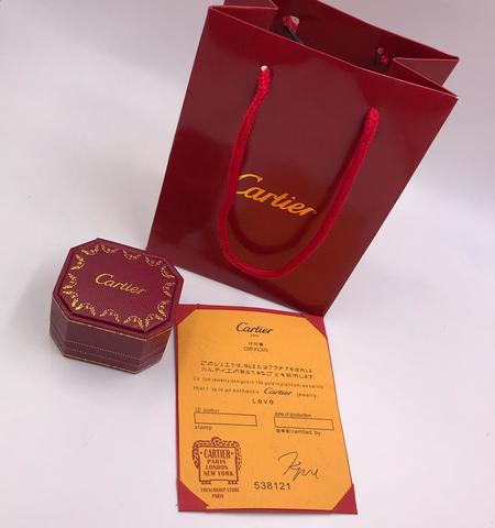 Упаковка под кольцо Cartier