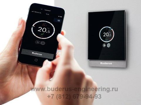 Интернет термостат Buderus Logamatic TC100 Арт.7736701045 Управление с телефона