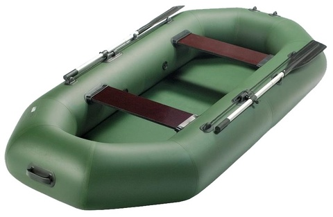 Гребная надувная лодка Аква Мастер 280 (двухместная, крепление под транец)