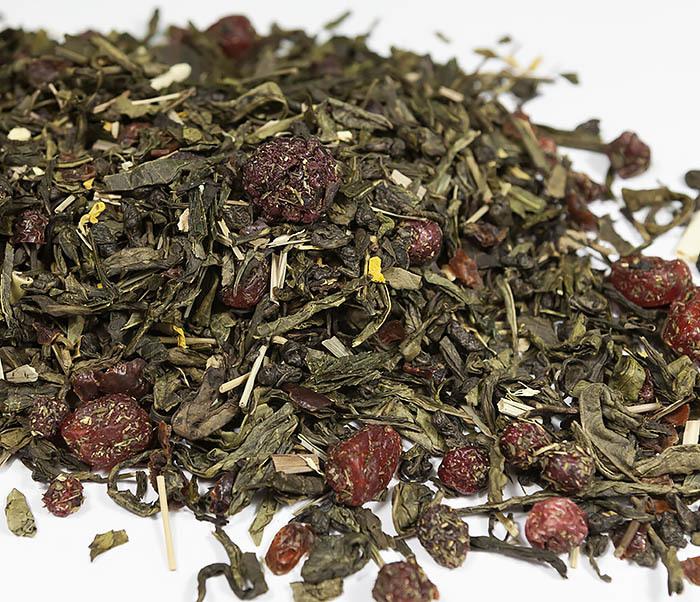 TEA-AR116 Зеленый ароматизированный чай «Полет Дракона» (50 гр)