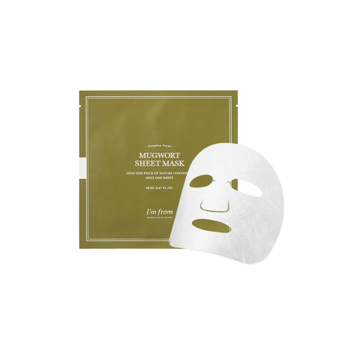 I'm From Mugwort Sheet Mask Маска с полынью тканевая