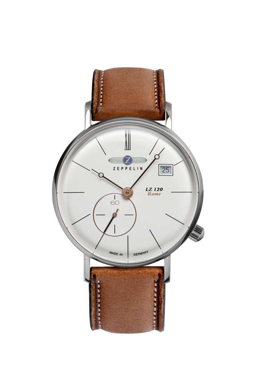 Часы Zeppelin LZ 120 Rome 71384 коричневые