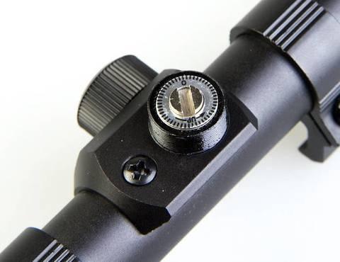 Прицел для пневматики Veber ПО 3-7x20