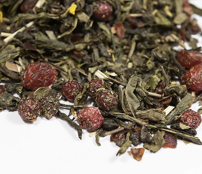 TEA-AR116 Зеленый ароматизированный чай «Полет Дракона» (50 гр) фото 02