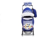 Санки коляска PIKATE Скандинавия «Синий»
