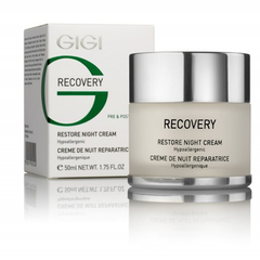 Восстанавливающий ночной крем GIGI RECOVERY: RESTORE NIGHT CREAM, 50 мл