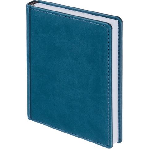 Ежедневник недатированный Attache Сиам искусственная кожа А6 176 листов бирюзовый (110x155 мм)