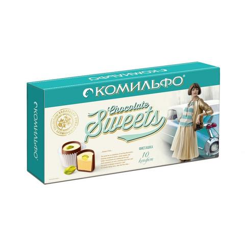 Шоколадные конфеты Комильфо с фисташкой 116 г