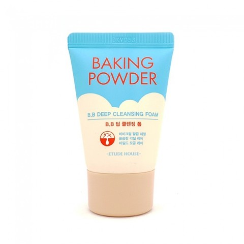 Etude House Очищающая пенка для умывания 3 в 1 с содой Baking Powder BB Deep Cleansing Foam 30 мл.