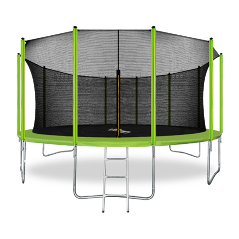 Батут ARLAND 16FT с внутренней сеткой