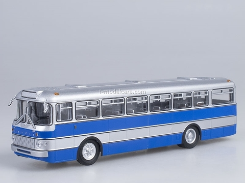 Ikarus-556 silver-blue Hungary Soviet Bus (SOVA) 1:43
