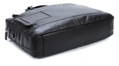 Сумка Piquadro Vibe, черная, 39x28,5x6 см