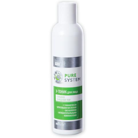 Тоник для лица , 250 мл ( Pure System )