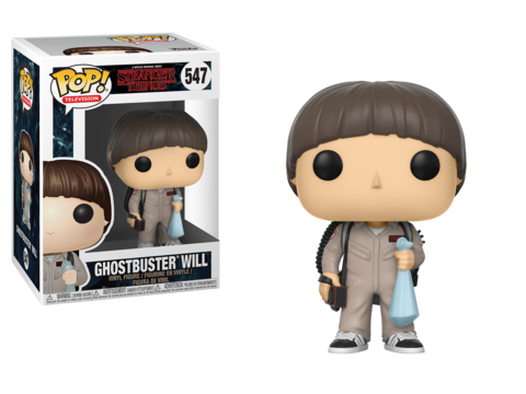 Stranger Things Ghostbuster Will Funko Pop! Vinyl Figure || Охотник за привидениями Уилл