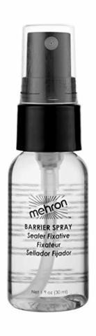 MEHRON Водостойкий закрепитель макияжа Barrier Spray - Pump Bottle, 30 мл