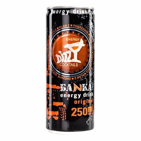 Напиток энергетический DIZZY Энерджи б/алк 0,25 л ж/б КАЗАХСТАН