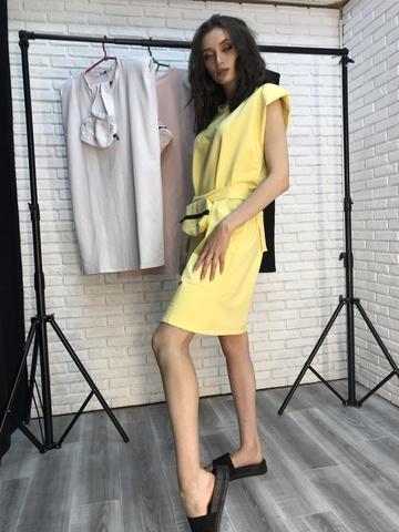 Платье-туника из трикотажа недорого