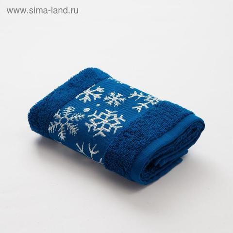 Полотенце махровое LoveLife Снежинки 30*60