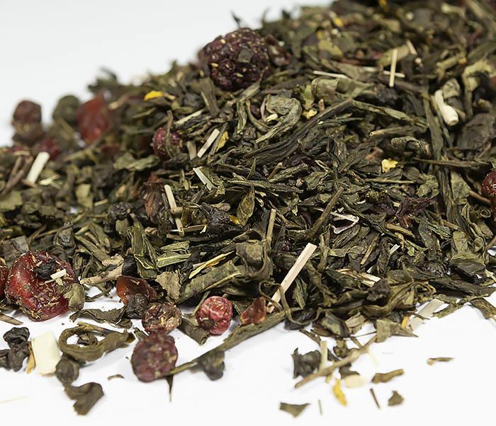 TEA-AR116 Зеленый ароматизированный чай «Полет Дракона» (50 гр) фото 03