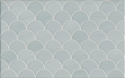 Плитка настенная Сияние голубой структура 6376 400х250