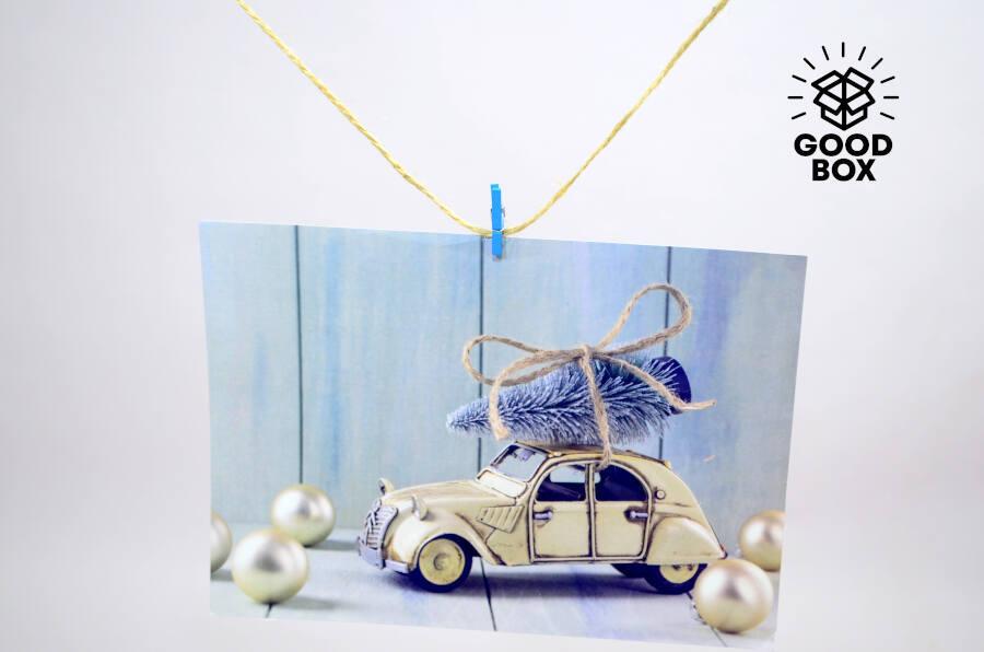 Новогодние наклейки купить в Алматы
