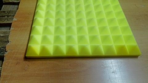 Акустический поролон ECHOTON Piramida 30 желтый