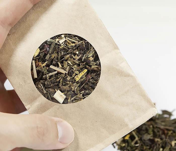 TEA-AR116 Зеленый ароматизированный чай «Полет Дракона» (50 гр) фото 04