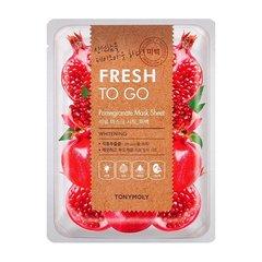 Maska \ Маска \ Mask TONYMOLY Fresh To Go Mask Sheet 25g 1pcs Pomegranate