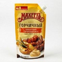 Майонез Махеевъ Горчичный 400мл