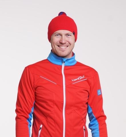 Лыжная шапка Nordski Sport красная