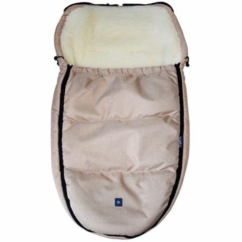 №S82 Спальный мешок в коляску exclusive (бежевый)